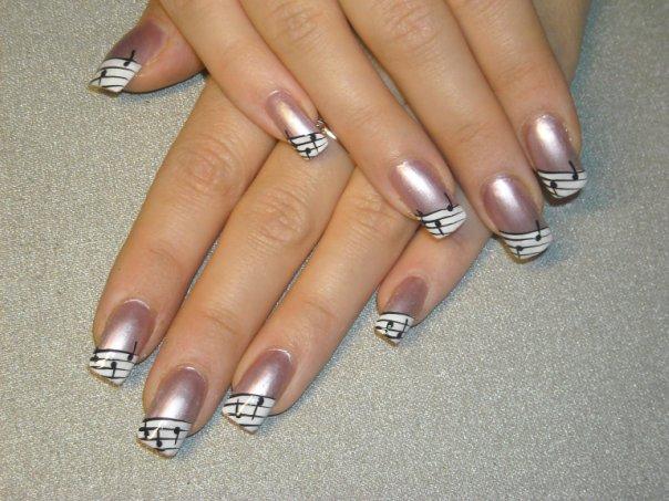 Фото ногти для офиса дизайн